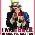 """Uncle Sam - I want beer"" by nealw6971"