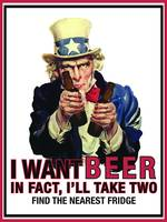 Uncle Sam - I want beer
