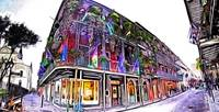 Royal Street New Orleans in Photo Paint