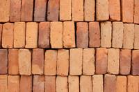 Stacked Handmade Adobe Bricks