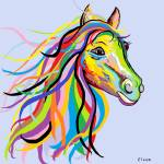 """Horse of a Different Color"" by EloiseArt"
