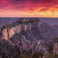 Grand Canyon North Rim Art Prints & Posters by Michael Zahra Nature Photography