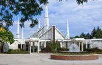 Chicago Illinois LDS Temple by David Kocherhans