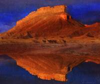 reflections at miner butte