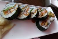 Sushi - spicy roll