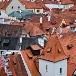 """""""Rooftops of Český Krumlov"""" by FranklinThompson"""