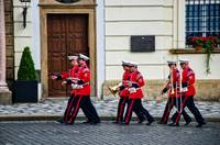 Bandsmen, After the Ceremony