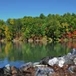 """""""Fall at Lake James, North Carolina"""" by smayer"""