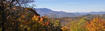 Fall Colors along the Blue Ridge Parkway, Great Sm