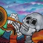 """Skeleton Serenade"" by ArtPrints"