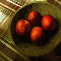 Bowl Full of Red Art Prints & Posters by RC deWinter