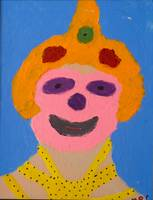 Lady Clown by Rachel Cowles