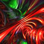 """""""Angry Clown Painted Abstract"""" by AlexButler"""
