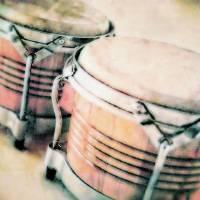 drums soft color Art Prints & Posters by Elizabeth Mix