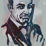 """007 James Bond - Stylised Etching Pop Art Poster"" by visualharbour"