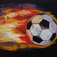 Soccer Art Prints & Posters by Michael Creese