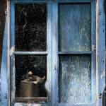 """Dirty Old Blue Window_DSC0056_edit"" by AndreHugosPlace"