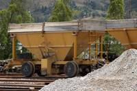 Gravel Rail Car