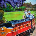 """Balboa Park Miniature Railway"" by BeaconArtWorksCorporation"