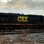 """CSX-engine-grade-crossing-silhouette-9352"" by travel"