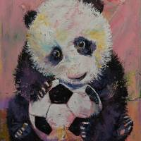 Soccer Player Art Prints & Posters by Michael Creese