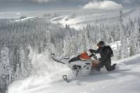 Super Snowmobile Sidehilling