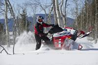 Snowmobile Sashaying