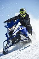 Snowmobiling a Tight Line