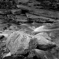 Mountain Stream and Boulders