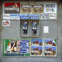 Phones and Cigarete Signs (Vintage Color)