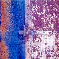 Rusted Door And Latch (Early Color!)