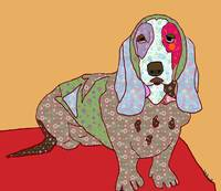 Hippie hound dog