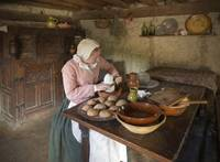 Carving Sugar, Plimouth Plantation