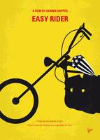 No333 My EASY RIDER minimal movie poster