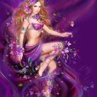 Fantasy beauty, woman in flowers Art Prints & Posters by Alena Lazareva