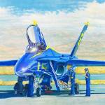 """Blue Angel Maintenance"" by DNCartist"