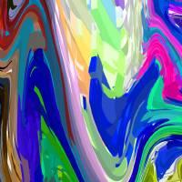 10-3-2008CABCDEFGHIJKLMNOPQRTUVWXYZABC Art Prints & Posters by Walter Paul Bebirian