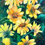 """YELLOW SUN DAISES"" by cassiakdkb"