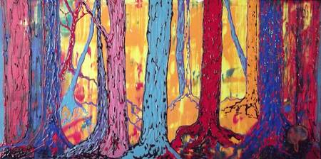 Forest Fantasy-2x4ft.