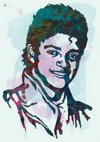 Michael Jackson Stylised Pop Art Poster