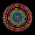 """Crocheted Circles"" by LynnArmedeDeBeal"