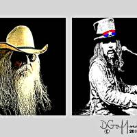 Leon Russell Art Prints & Posters by Dave Gafford