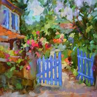 Blue Gate, French Invitaion
