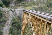Railway Bridge over Canyon