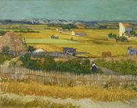 Vincent van Gogh, The harvest
