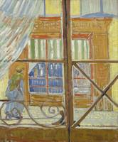 Vincent van Gogh. View of a butcher's shop