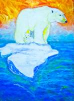 Polar Bears Story - looking