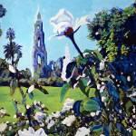 """Rose Garden Balboa Park San Diego"" by BeaconArtWorksCorporation"