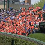 """The 7 Line Army at Wrigley Field"" by DarrenMeenan"