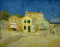 Vincent van Gogh,  The yellow house-The street